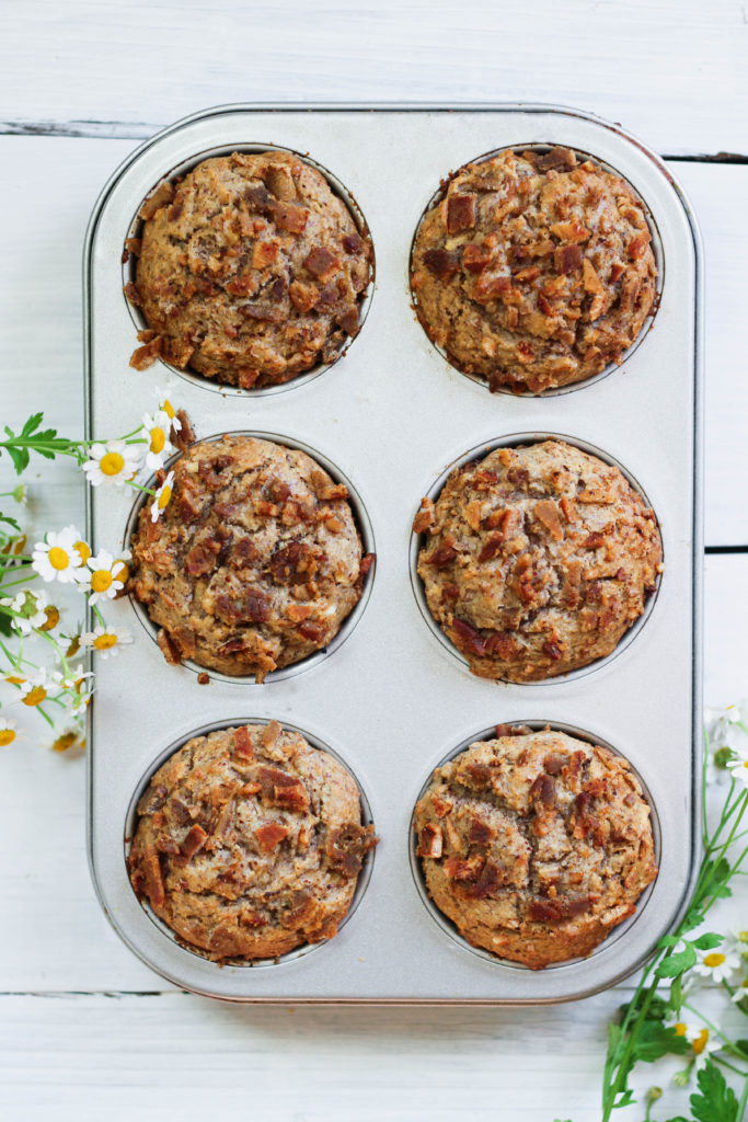 Paleo Apple Bacon Muffins