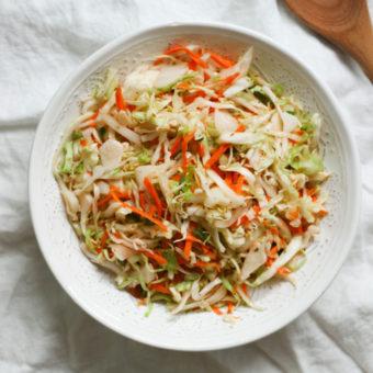 Curtido (Salvadoran Spicy Cabbage Slaw)