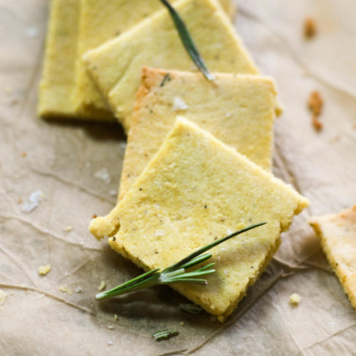 Nut Free Paleo Crackers