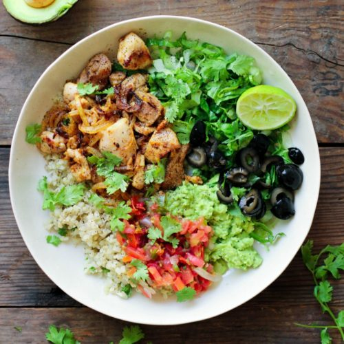 Paleo Burrito Bowl (Whole30, Keto)