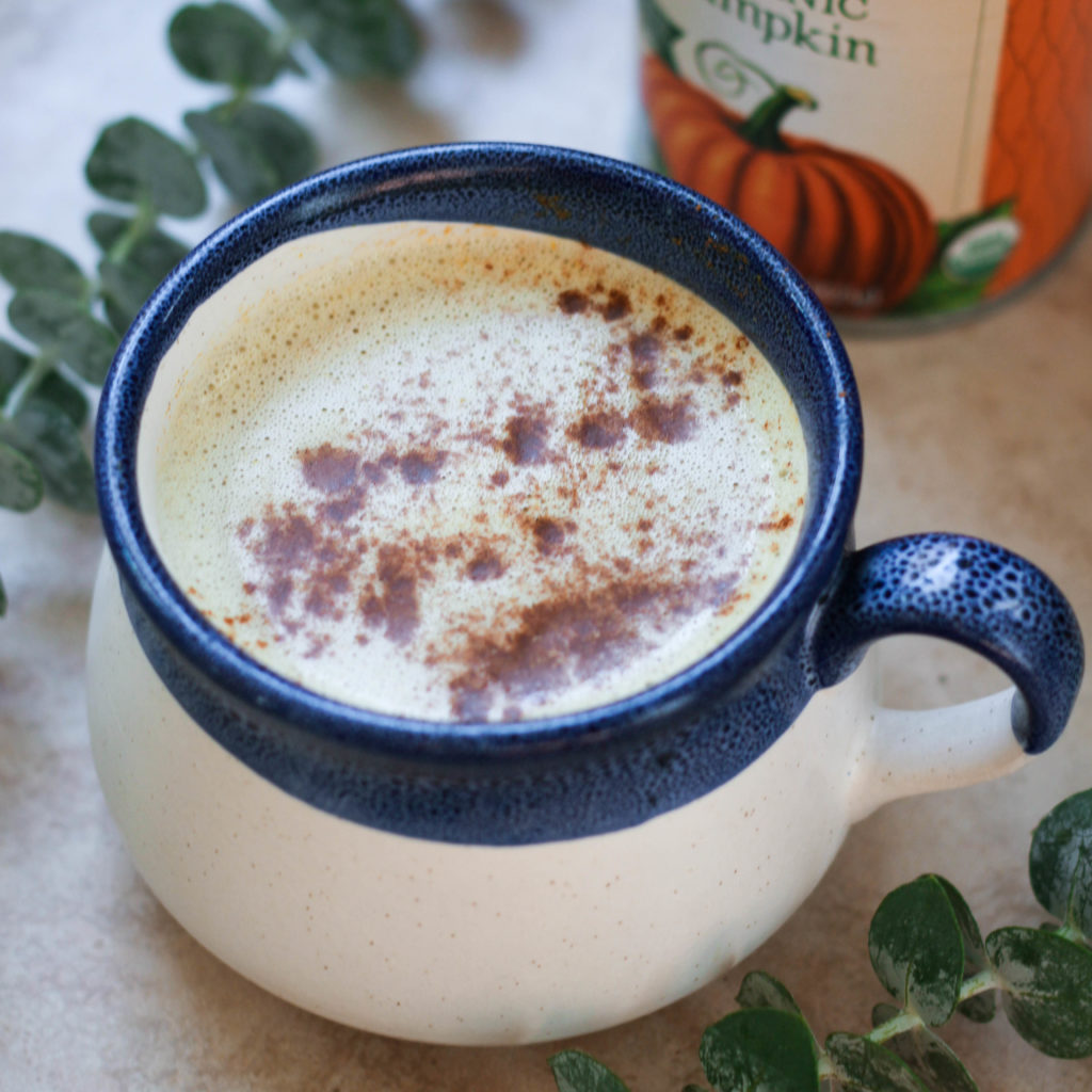 Paleo Vegan Pumpkin Spice Latte