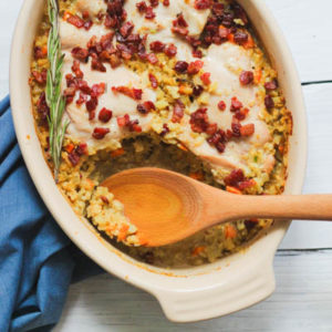 Whole30 & Paleo Chicken and Rice Casserole