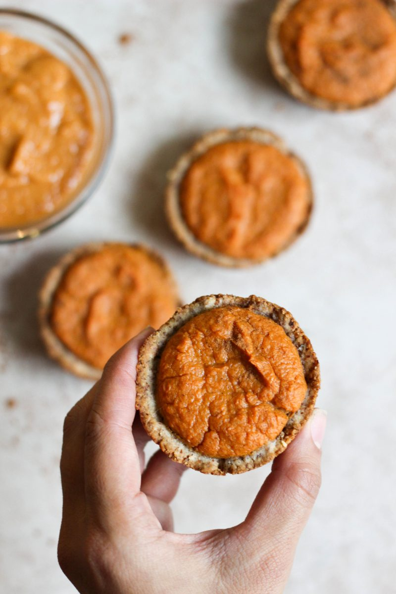 Mini Paleo Sweet Potato Tarts