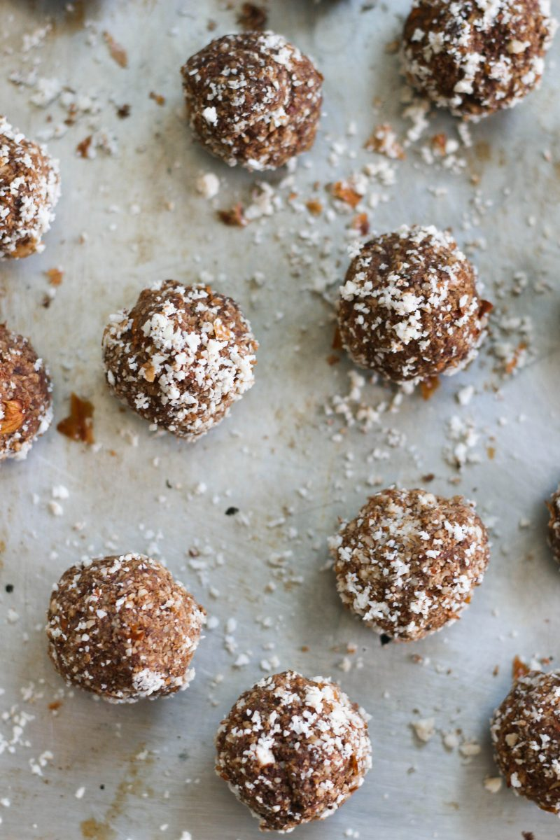 Paleo Chocolate Nut Pulp Bites