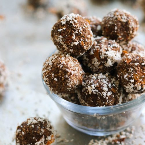 Vegan and Paleo Chocolate Nut Pulp Bites