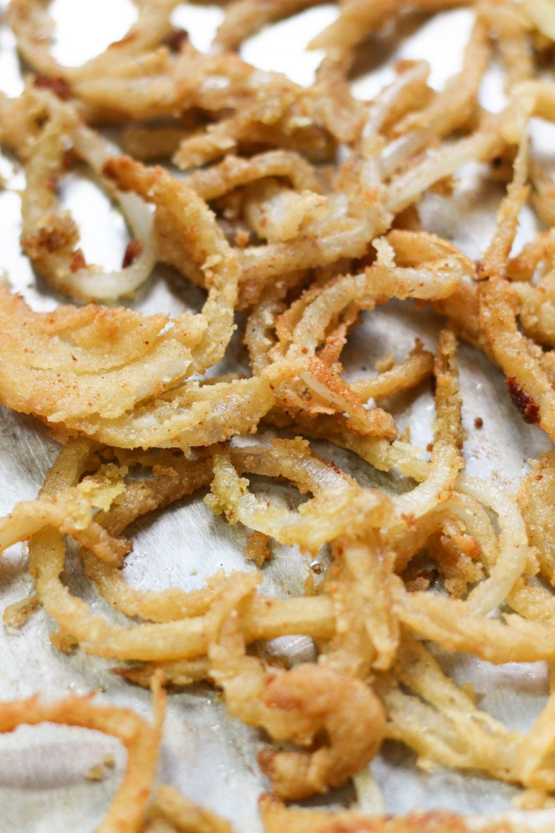 Paleo Vegan French Fried Onions