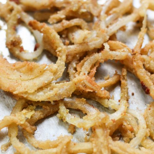 Paleo & Vegan French Fried Onions (Whole30, AIP)