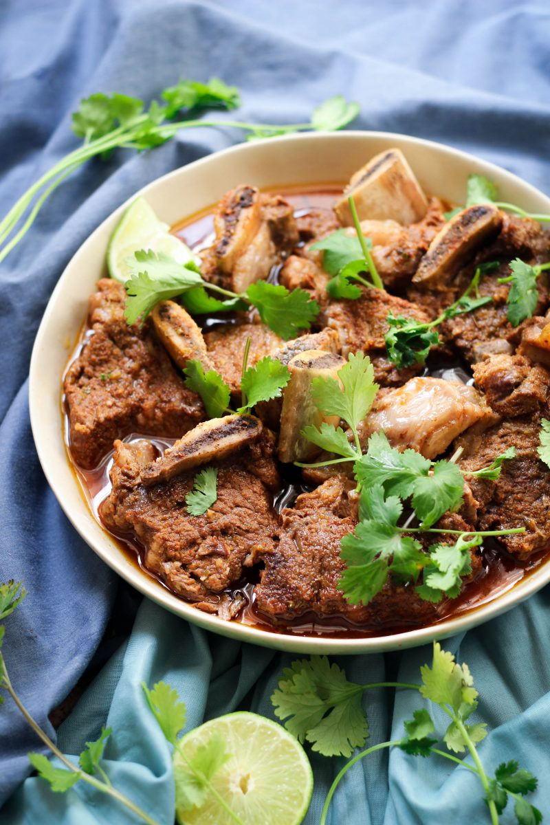 Instant Pot Chili Lime Short Ribs Whole30 Paleo