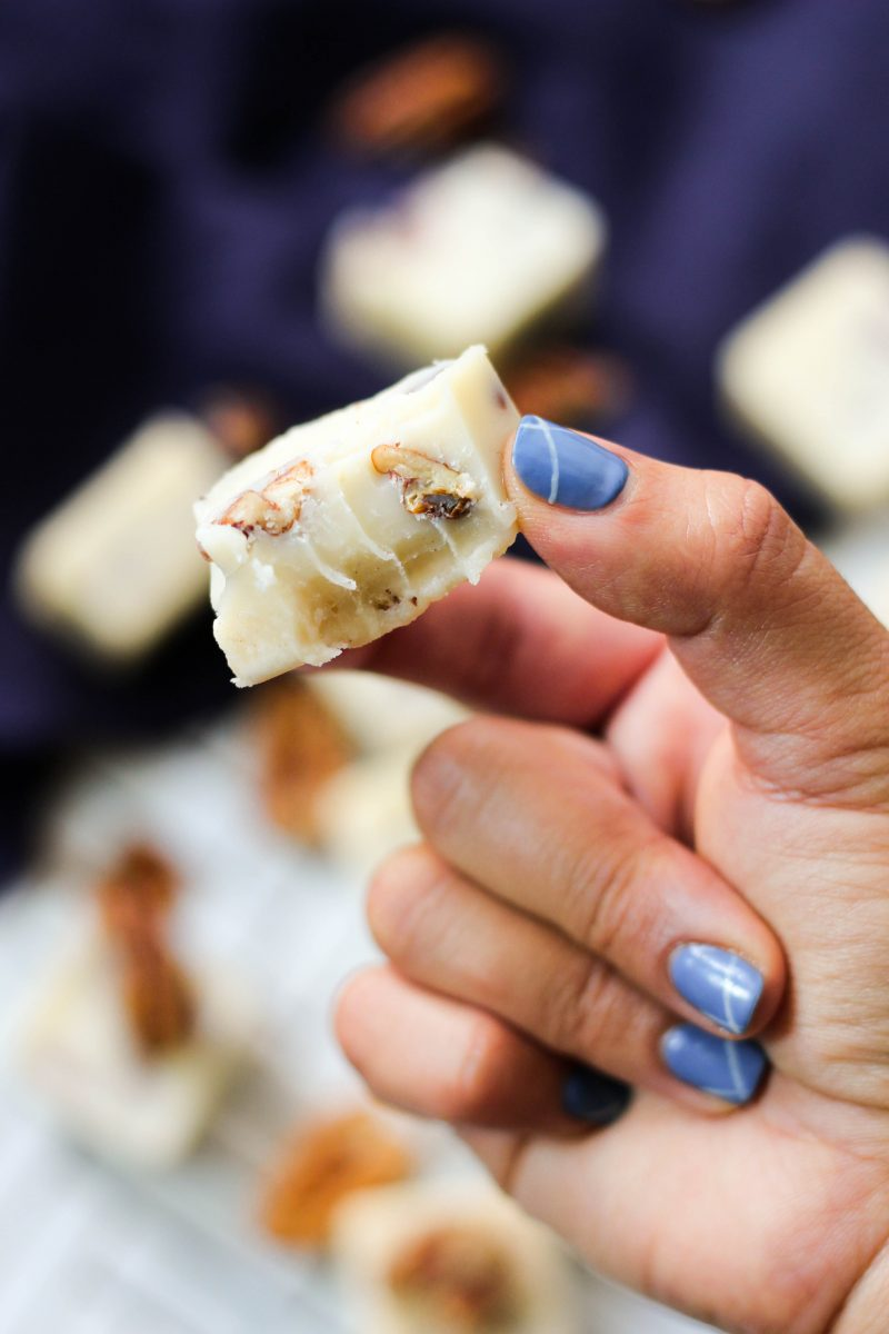 Paleo Butter Pecan Keto Fat Bombs
