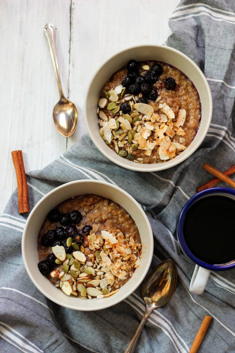 Cinnamon Crunch Instant Pot Grain Free Oatmeal