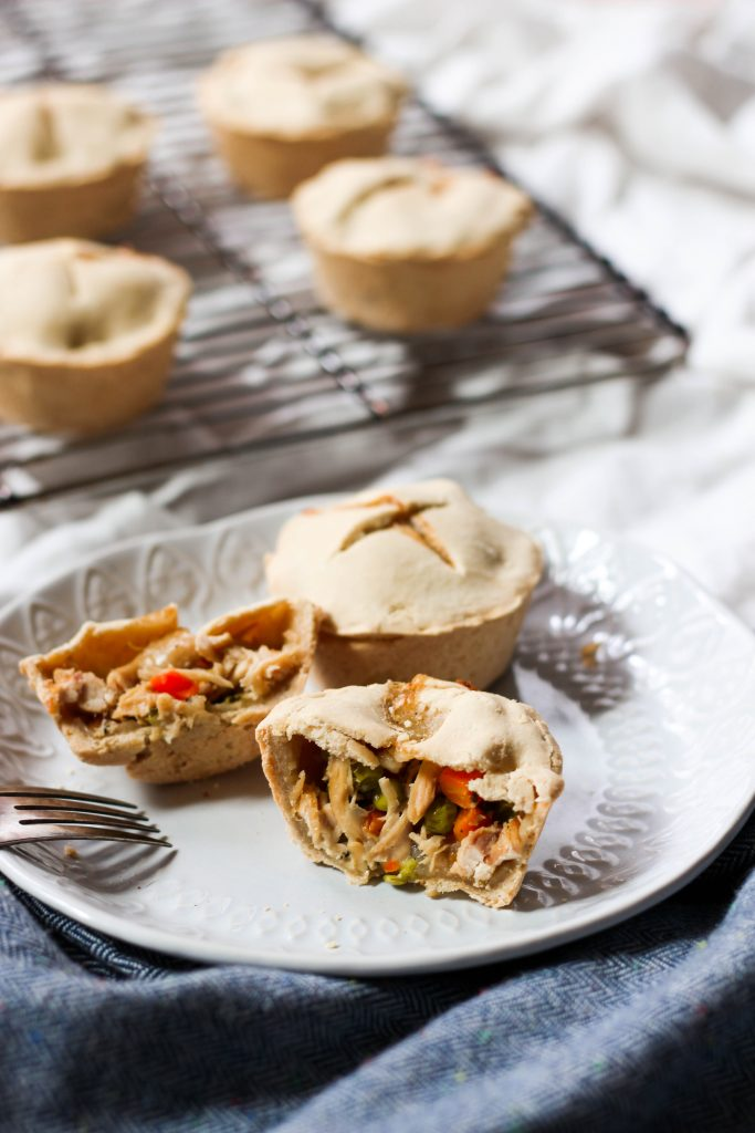 Mini Paleo Chicken Pot Pies