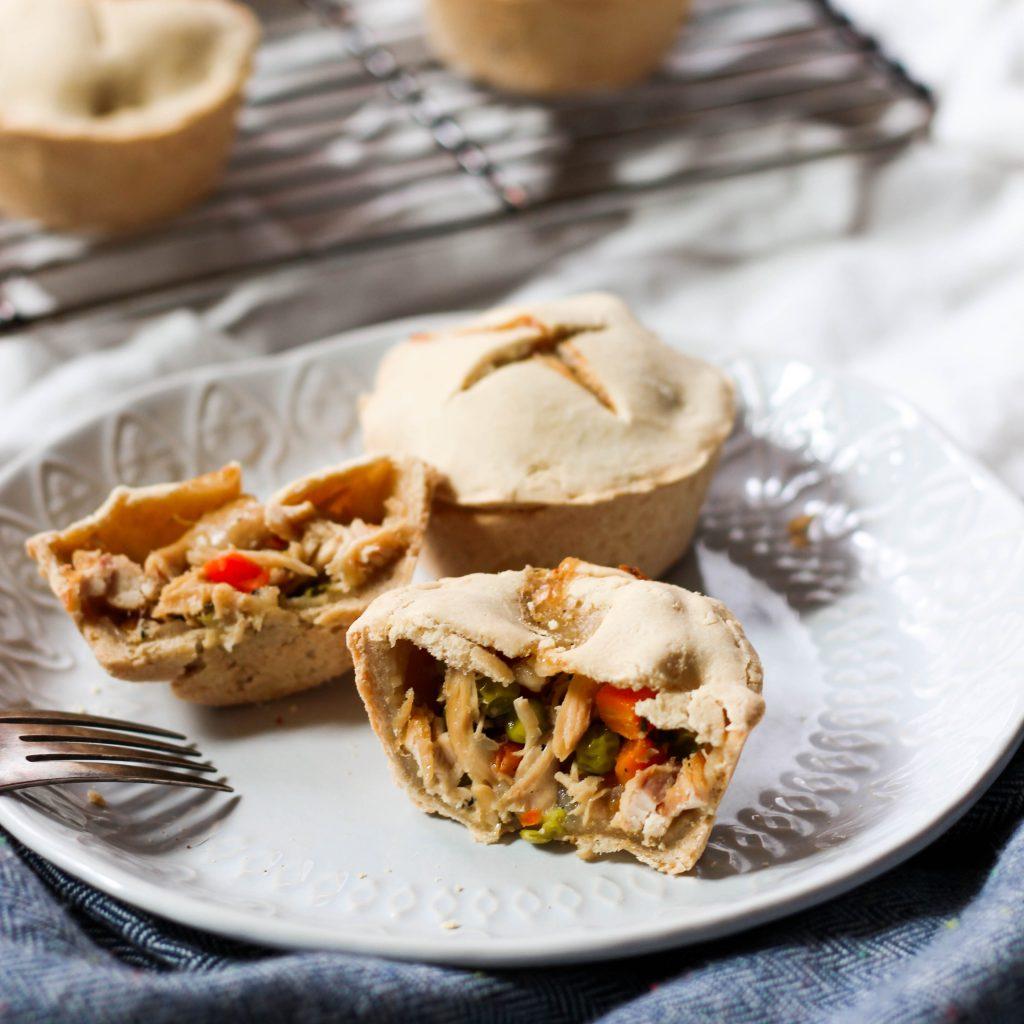 Mini Paleo Chicken Pot Pies