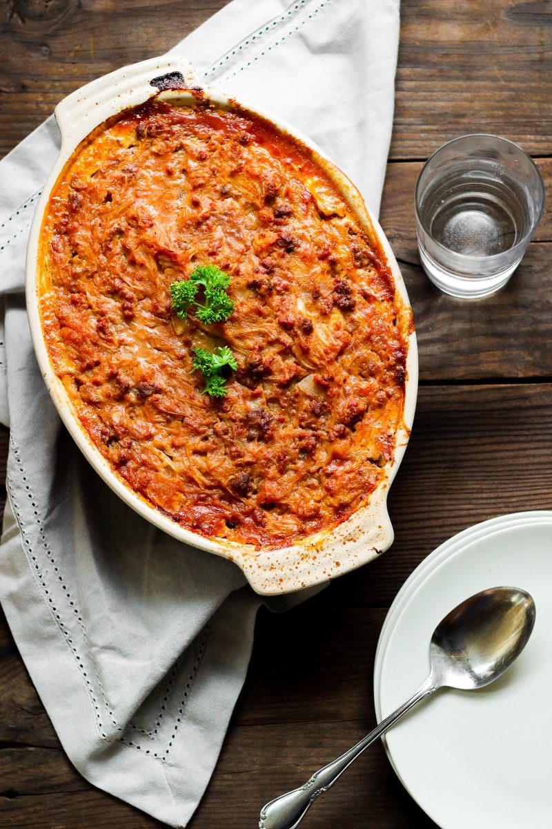 Paleo Sloppy Joe Casserole
