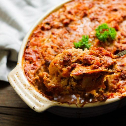Paleo Sloppy Joe Casserole (Whole30 Compliant)