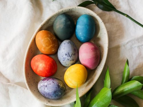 How to Dye Easter Eggs Naturally – What Great Grandma Ate