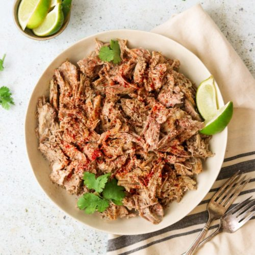 Instant Pot Whole30 Pulled Pork with Dry Rub (Paleo, Low Carb, Keto)