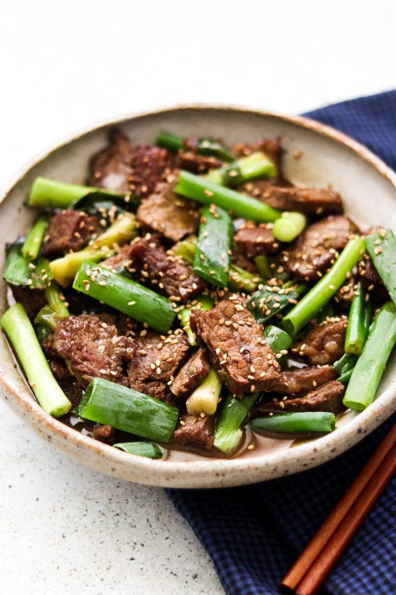Whole30 Mongolian Beef