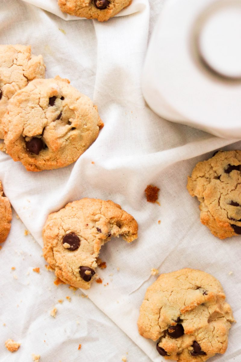 Cassava Flour Chocolate Chip Cookies