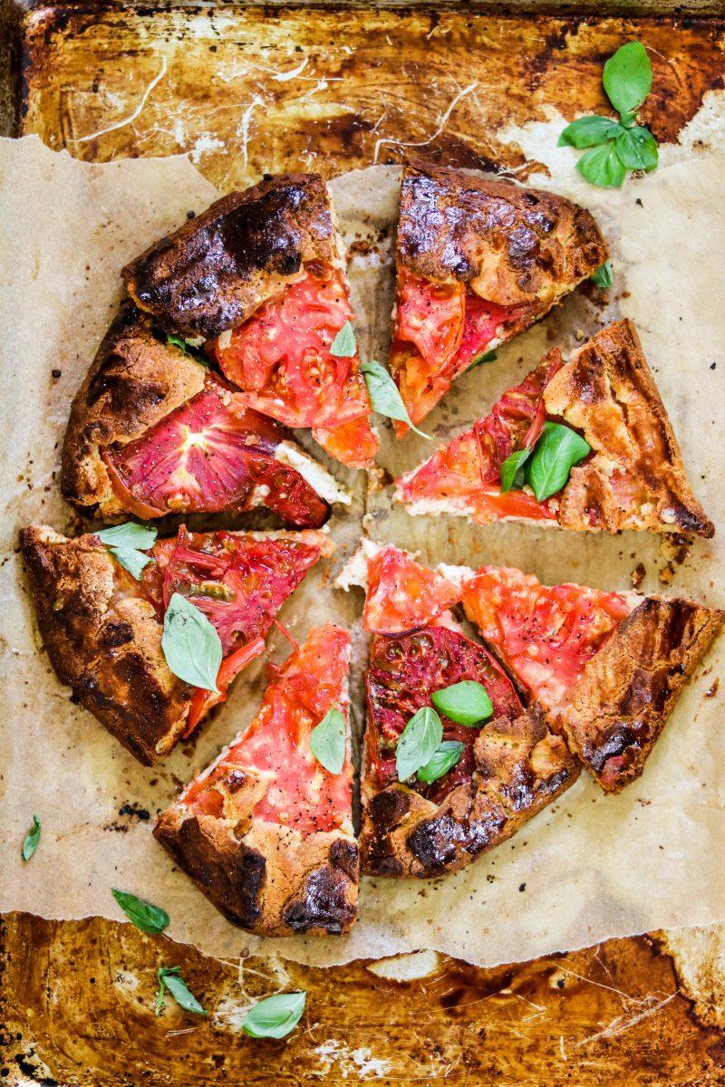 Paleo Tomato Galette