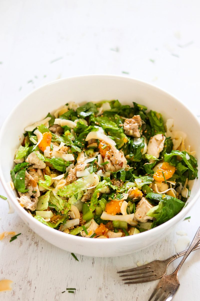Whole30 Mandarin Chicken Salad