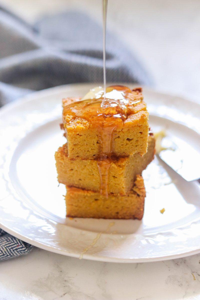 Paleo Pumpkin Cornbread