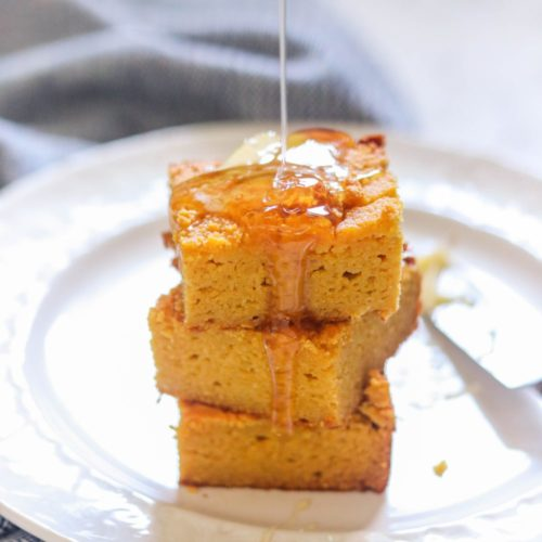 Paleo Pumpkin Cornbread (With No Corn)