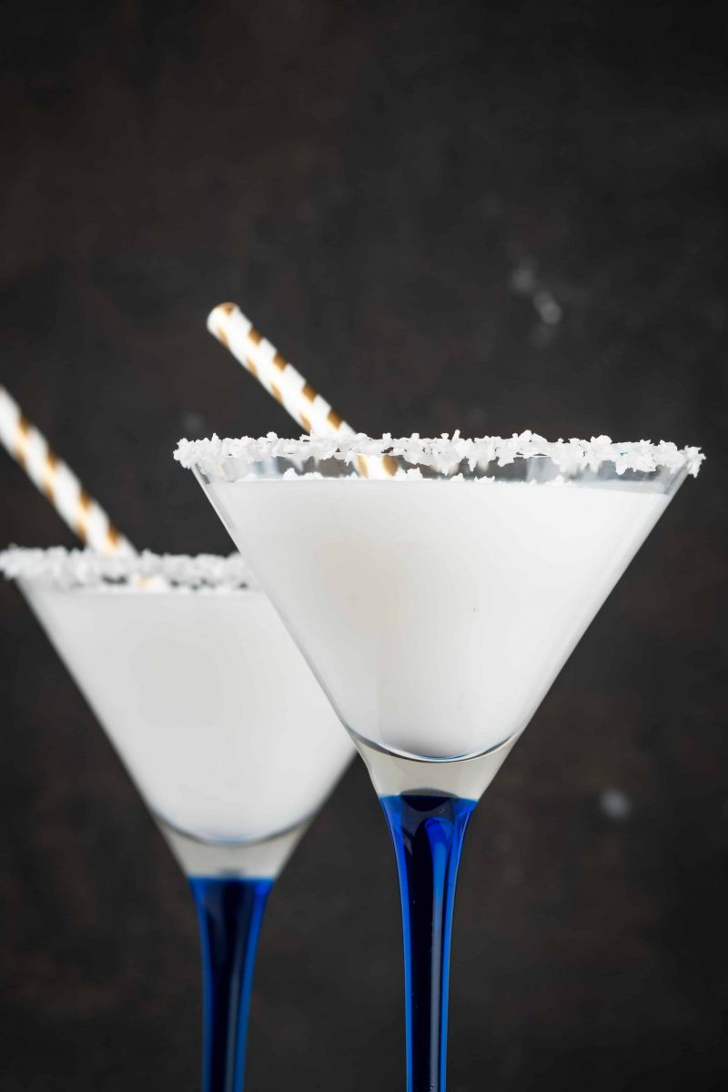 Low Sugar Cocktails (Keto Snowbank Winter Cocktail)