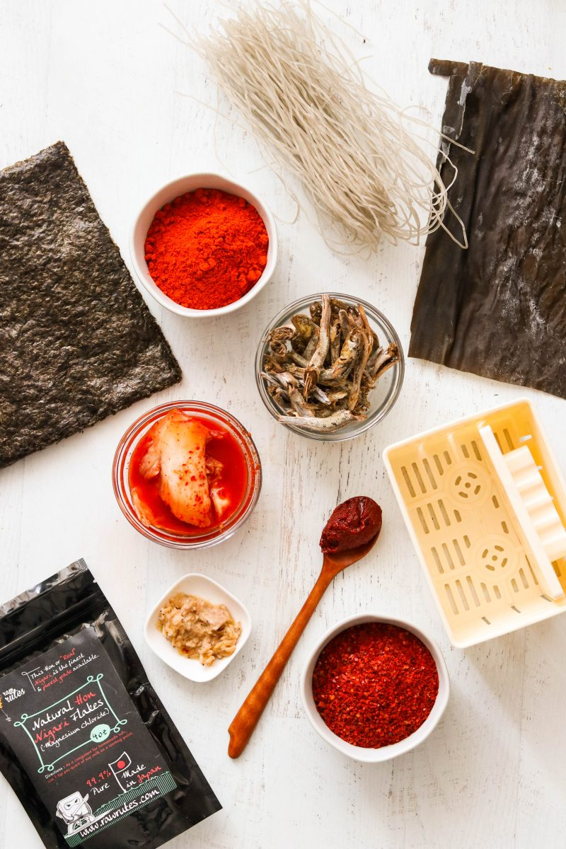 Necessary Ingredients for Korean Paleo Cooking