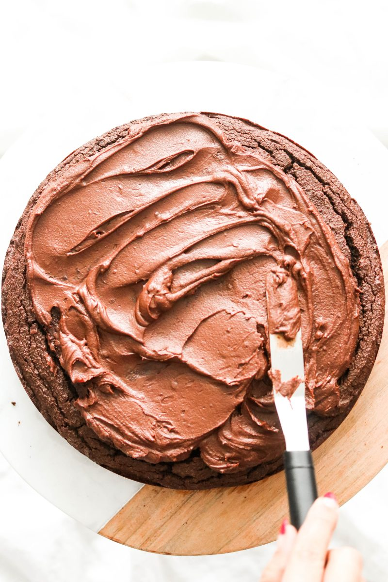 Paleo Chocolate Cake with Chocolate Ganache