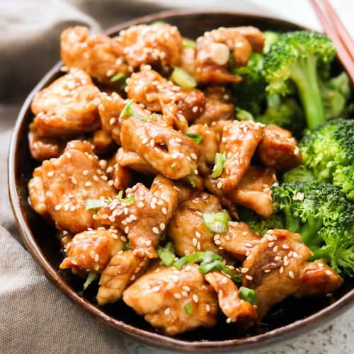 Paleo & Whole30 Sesame Chicken – Stovetop & Air Fryer Method