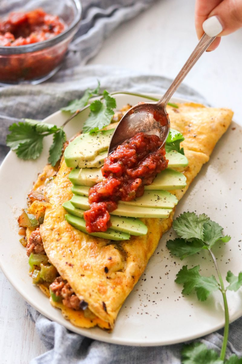 Whole30 & Keto Chorizo Omelette