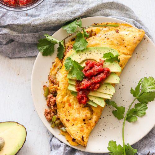 Whole30 & Keto Chorizo Omelette