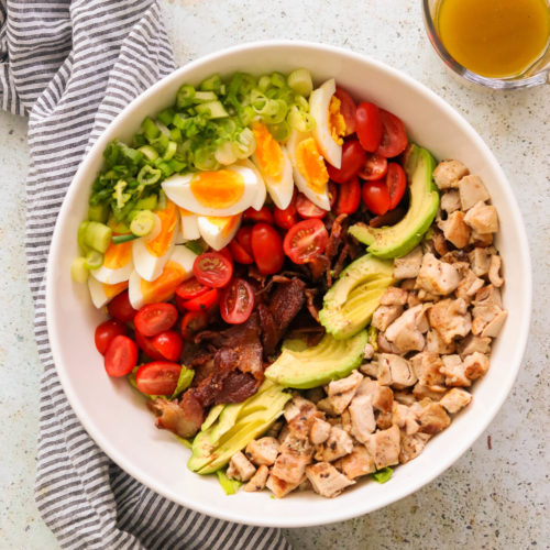 Whole30 Cobb Salad (Paleo, Keto)
