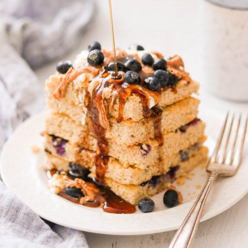 Paleo & Keto Sheet Pan Pancakes