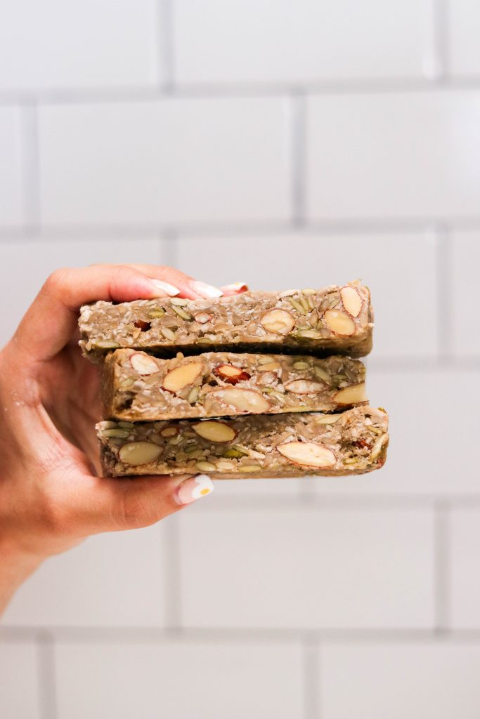 Best low carb protein bars stacked