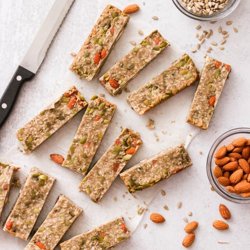 Low Carb Protein Bars (Paleo Option, Gluten Free)