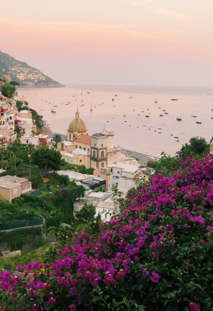 Rome to Amalfi Coast - Positano Sunset