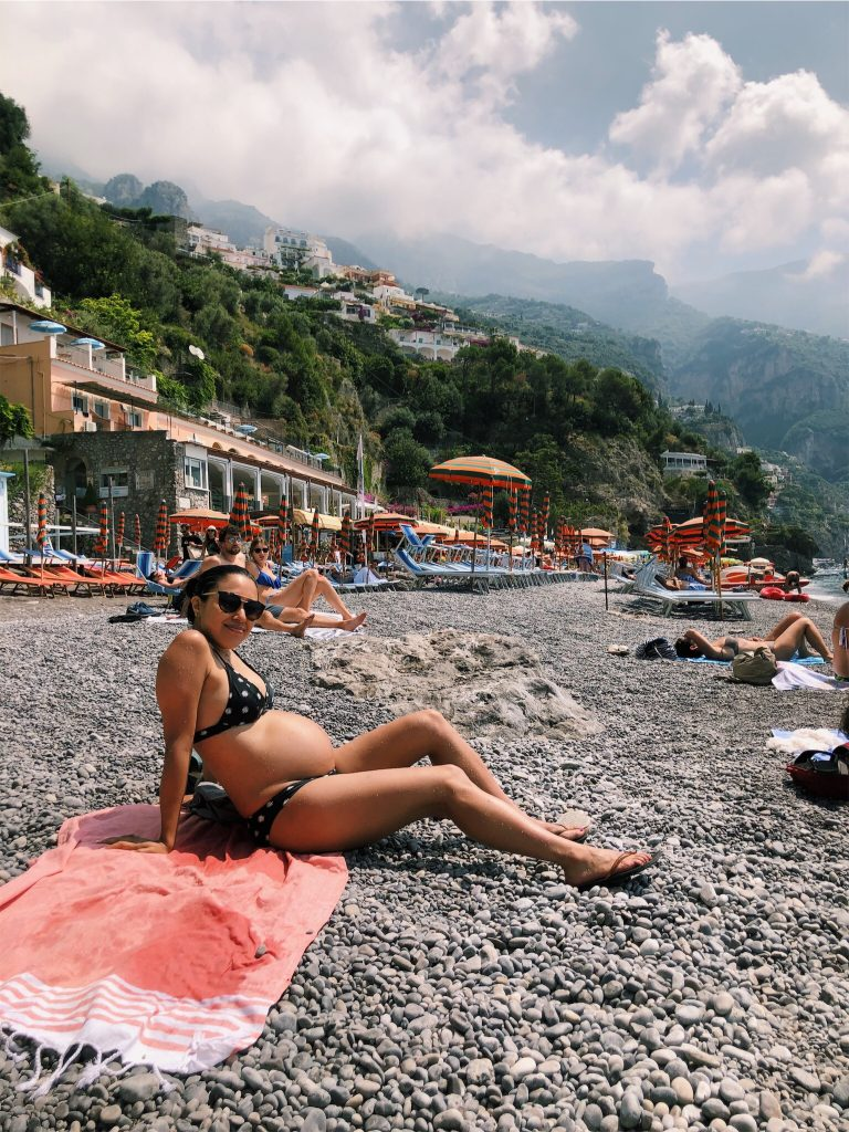 Rome to Amalfi Coast - Positano Fornillo Beach
