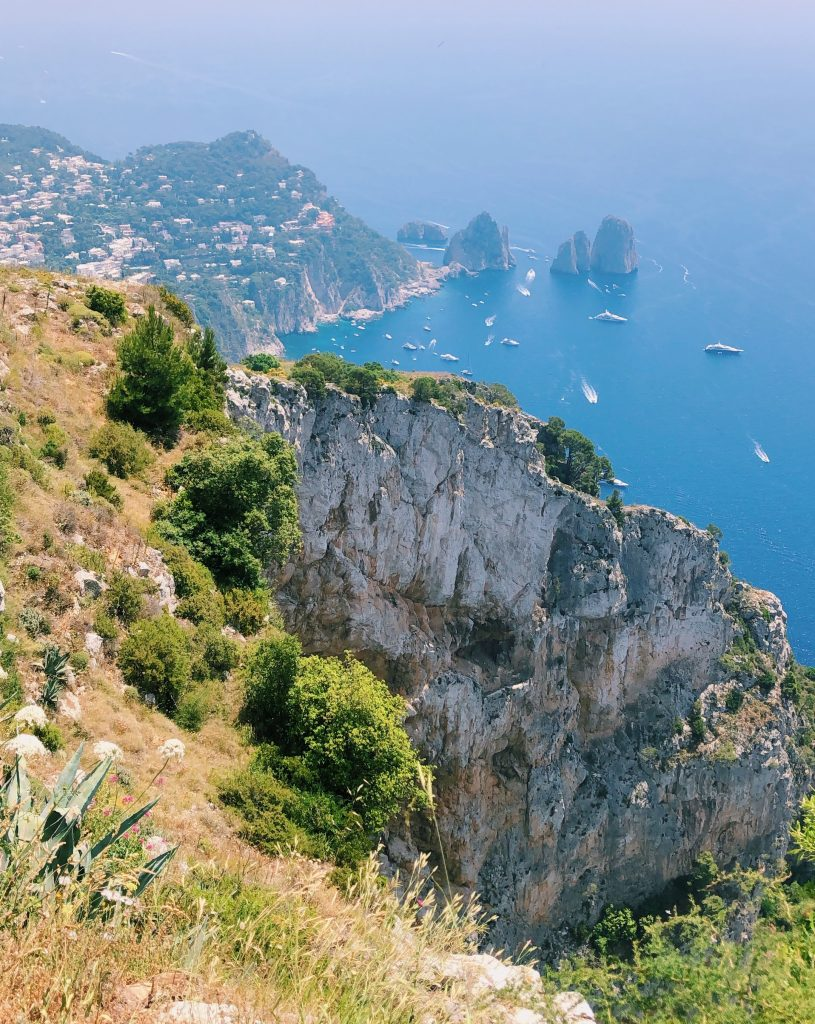 Rome to Amalfi Coast - View from Monte Solaro