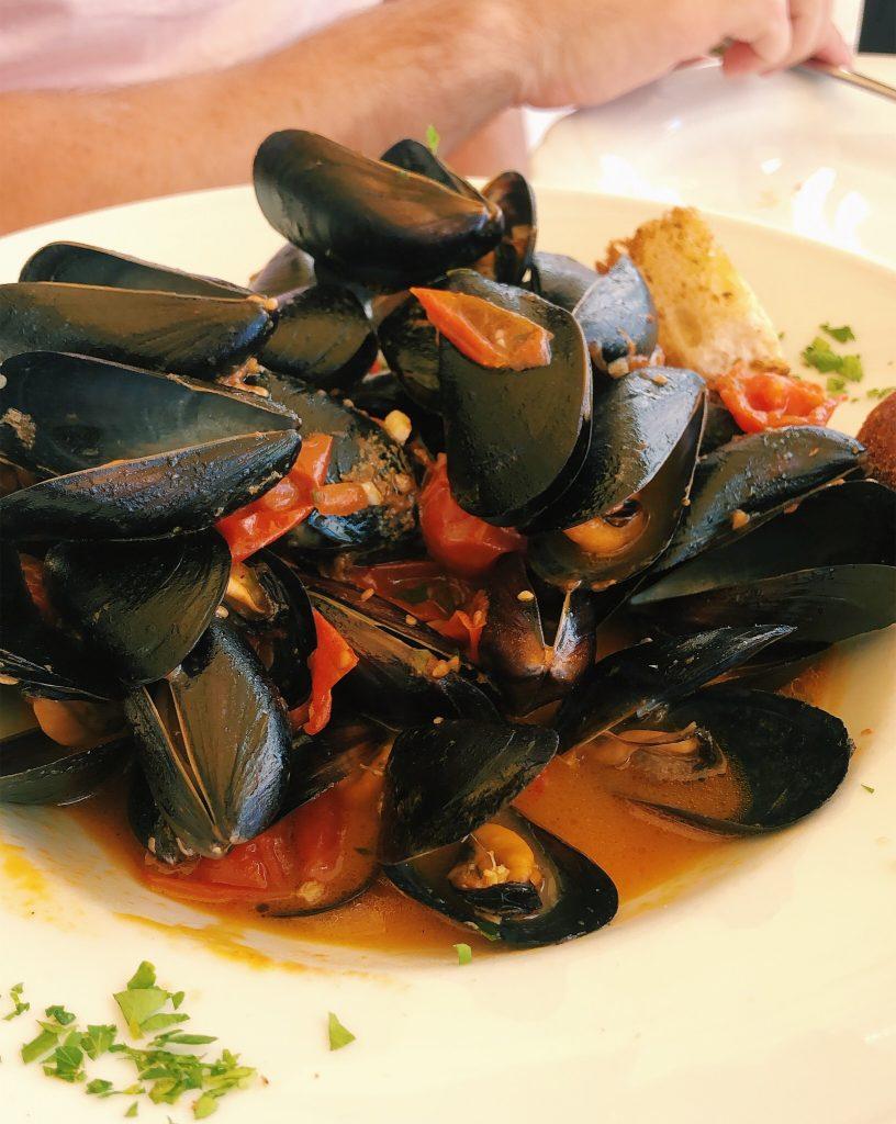 Rome to Amalfi Coast - Mussels
