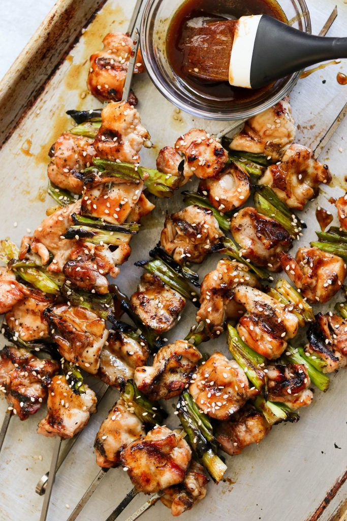 paleo chicken yakitori - one of my favorite Whole30 chicken recipes!