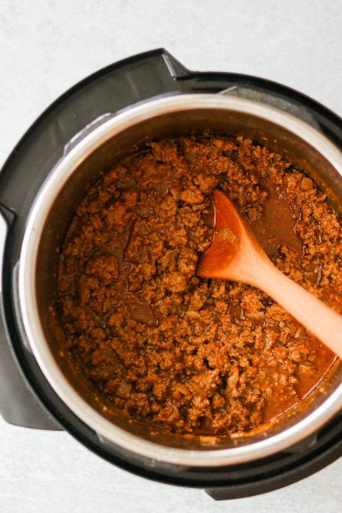 how to make sloppy joes in the instant pot