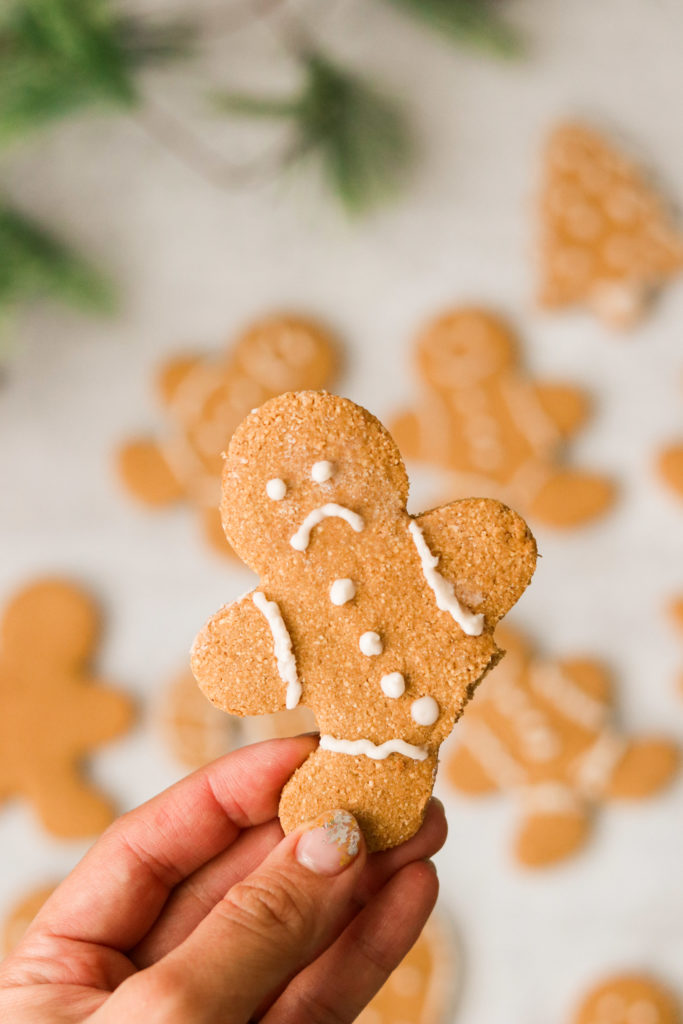 Gluten free gingerbread men