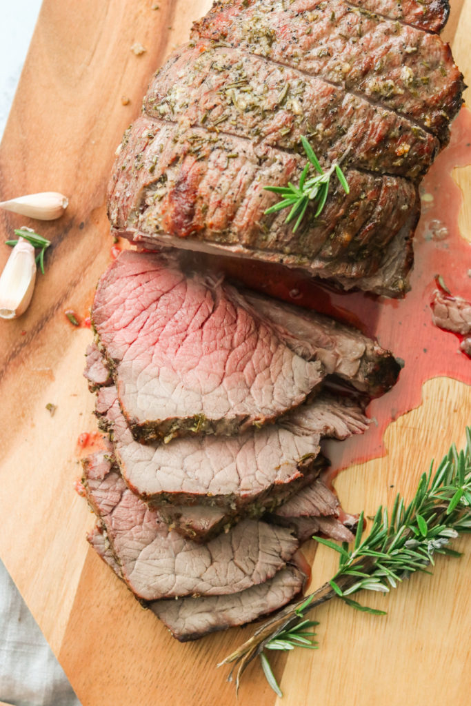 Rosemary & Garlic Whole30 Roast Beef