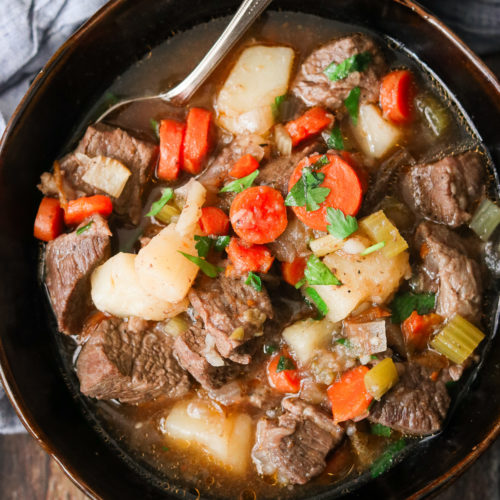 Easy Instant Pot Beef Stew (Paleo, Whole30)