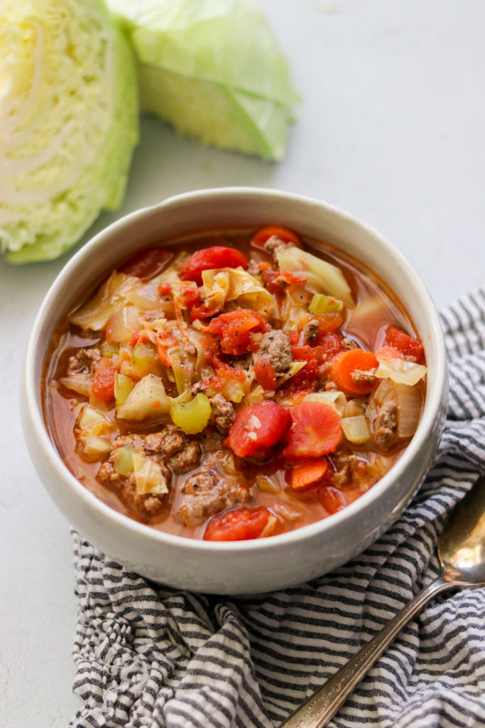 Instant pot cabbage soup recipe