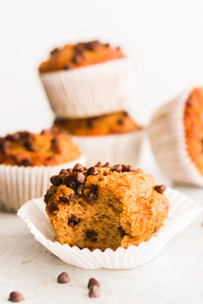 healthy nut free muffin