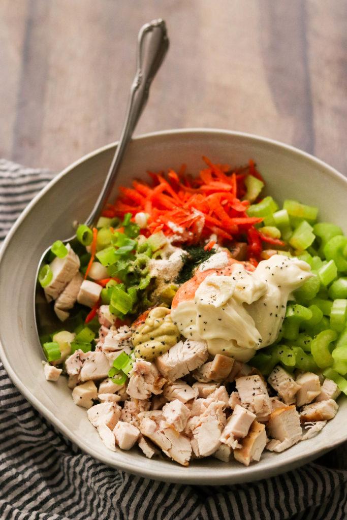Whole30 Buffalo Chicken Salad Paleo Keto What Great