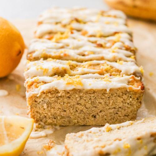 Paleo Lemon Banana Bread (Nut Free)