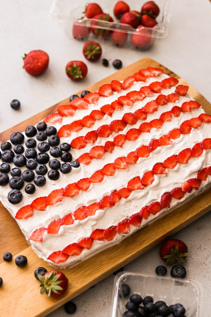 paleo flag cake recipe